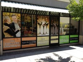Business Store Front Wrap