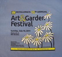 Petaluma Downtown Association - Art & Garden Festi
