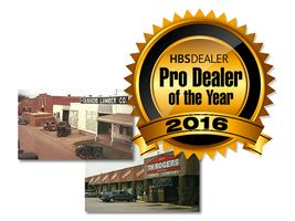 HBS Pro Dealer of the Year Award