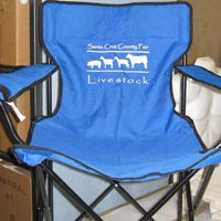 Screen Printed Camp Chairs can also be personalize