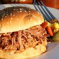 North Carolina Pulled Pork Sandwich