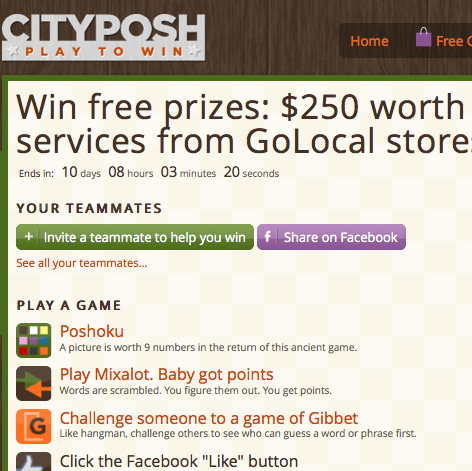 New GoLocal Contest for Business Members