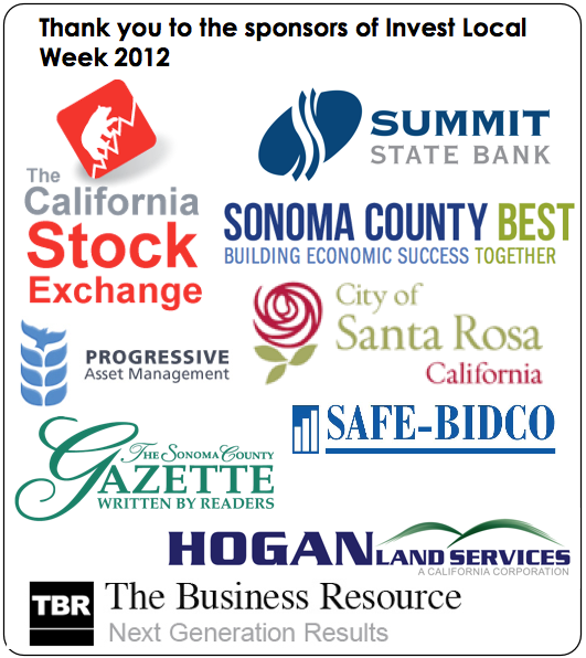 Invest Local Week Sponsors
