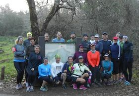 Trail training group