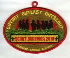 Cub Scout Camp embroidered patches