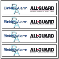 Binkley All-Guard logos