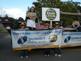 Healdsburg Staff in FFA Parade