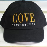 Embroidered Cap for Cove Construction