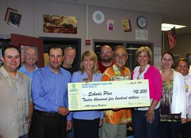 Celebrate Community check presentation