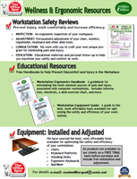 Wellness and Ergonomic Resources