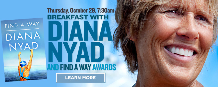 Long Distance Swimmer Diana Nyad to Appear in Santa Rosa