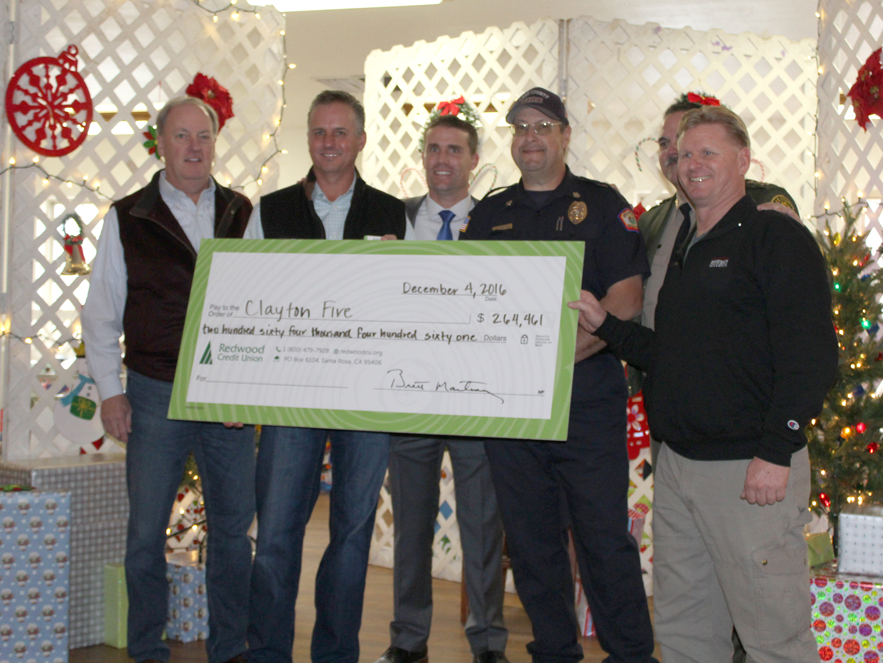 Lake County Fire Victims Relief Fund Brings Holiday Cheer