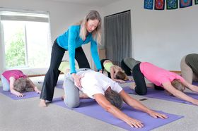 Yoga for a Healthy Back class