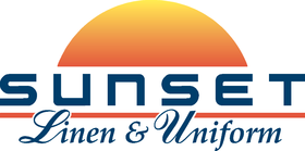 Sunset Linen and Uniform logo