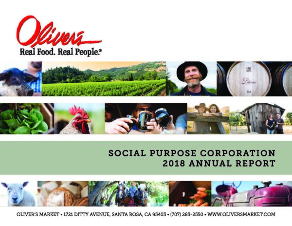 Oliver's Market Earns National Recognition for Social Purpose