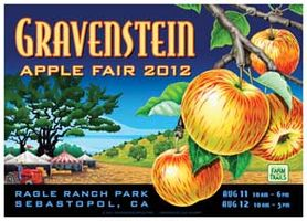 Gravenstein Apple Fair Poster 2012