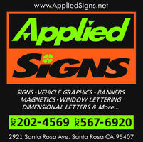 Applied Signs Go Local List Sonoma County Golocal