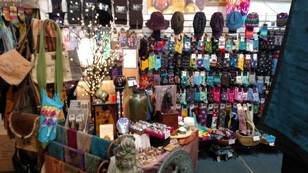 Socks, scarves, hats, and more
