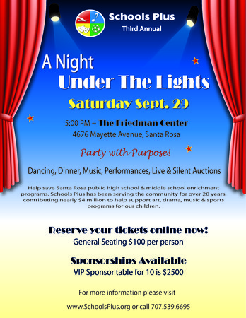 The Schools Plus Gala, A Night Under the Lights: s