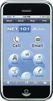 Net101 mobile website