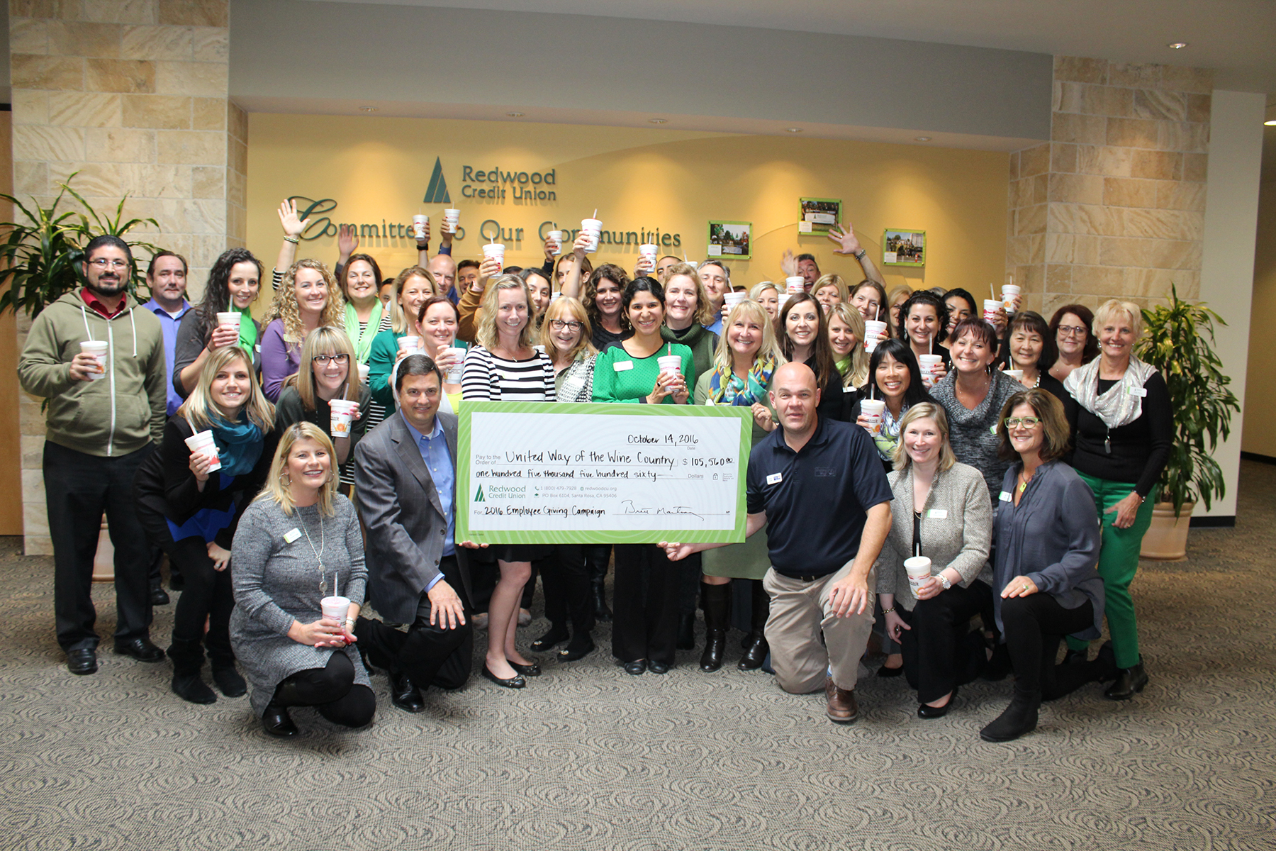 RCU Exceeds United Way Campaign Goal